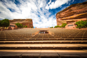 The Natural Stairmaster of Red Rocks Amphitheater.